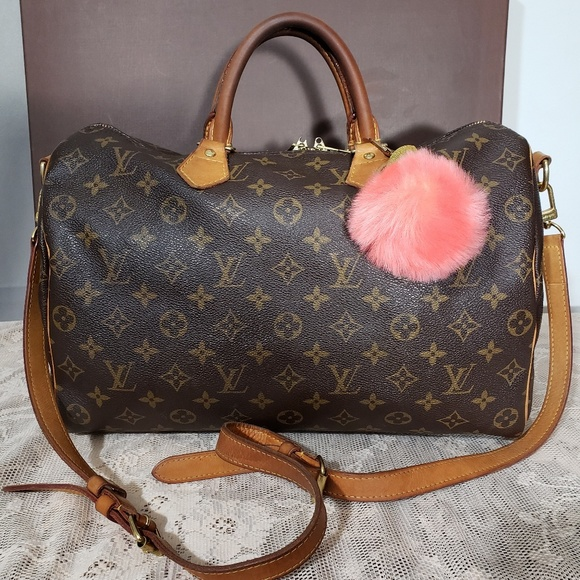 Louis Vuitton Handbags - Authentic Louis Vuitton Monogram Speedy 35 Bandoul